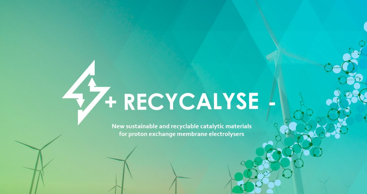 Recycalyse sustainable innovations novel recycable catalytic materials