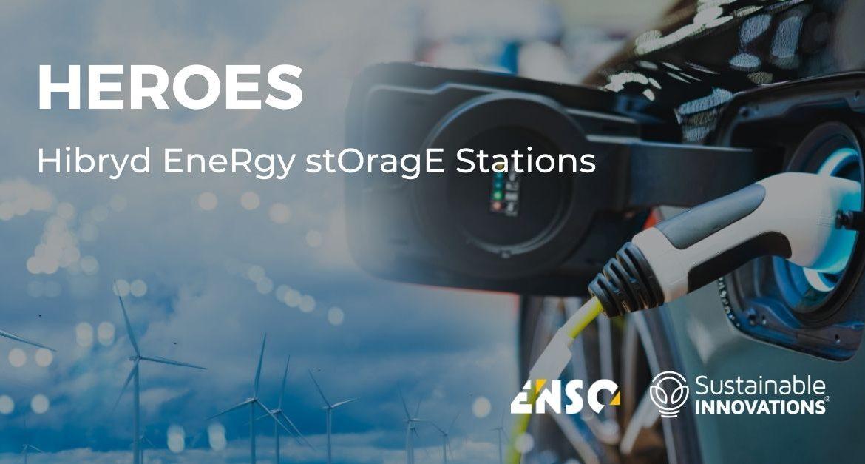 SUSTAINABLEINNOVATIONS HEROES CARGA BATERIAS ELECTRICAS ENERGIA